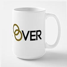 Game over Wedding rings Mug