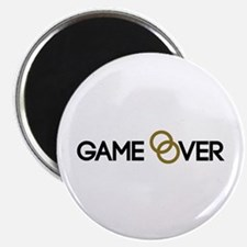 Game over Wedding rings Magnet