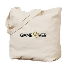 Game over Wedding rings Tote Bag