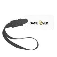 Game over Wedding rings Luggage Tag