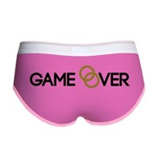 Game over Wedding rings Women's Boy Brief