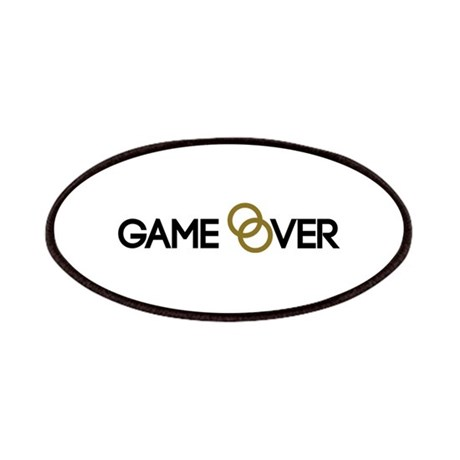 Game Over Wedding Rings Patches By Shirtsalon
