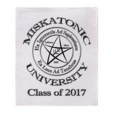 Class of 2017 Throw Blanket