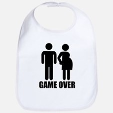 Game over Pregnancy Bib