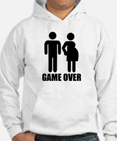 Game over Pregnancy Hoodie