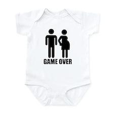Game over Pregnancy Infant Bodysuit