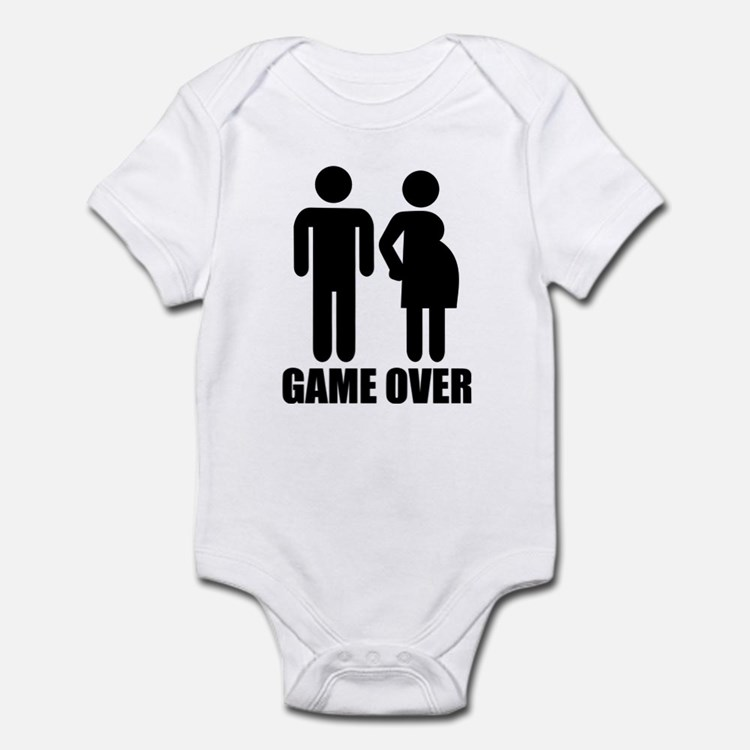 Game over Pregnancy Infant Bodysuit