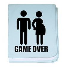 Game over Pregnancy baby blanket