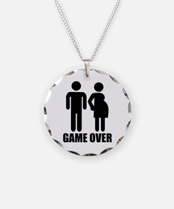 Game over Pregnancy Necklace