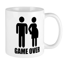Game over Pregnancy Mug