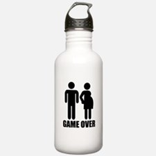 Game over Pregnancy Water Bottle