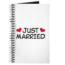Just Married Wedding Journal