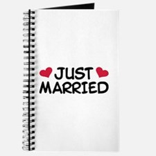 Just Married Wedding Journal