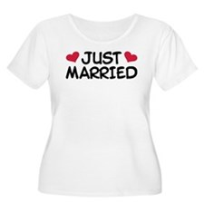 Just Married Wedding T-Shirt