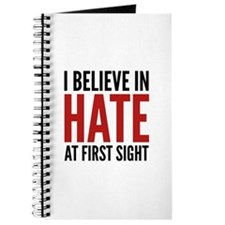 I Believe In Hate At First Sight Journal