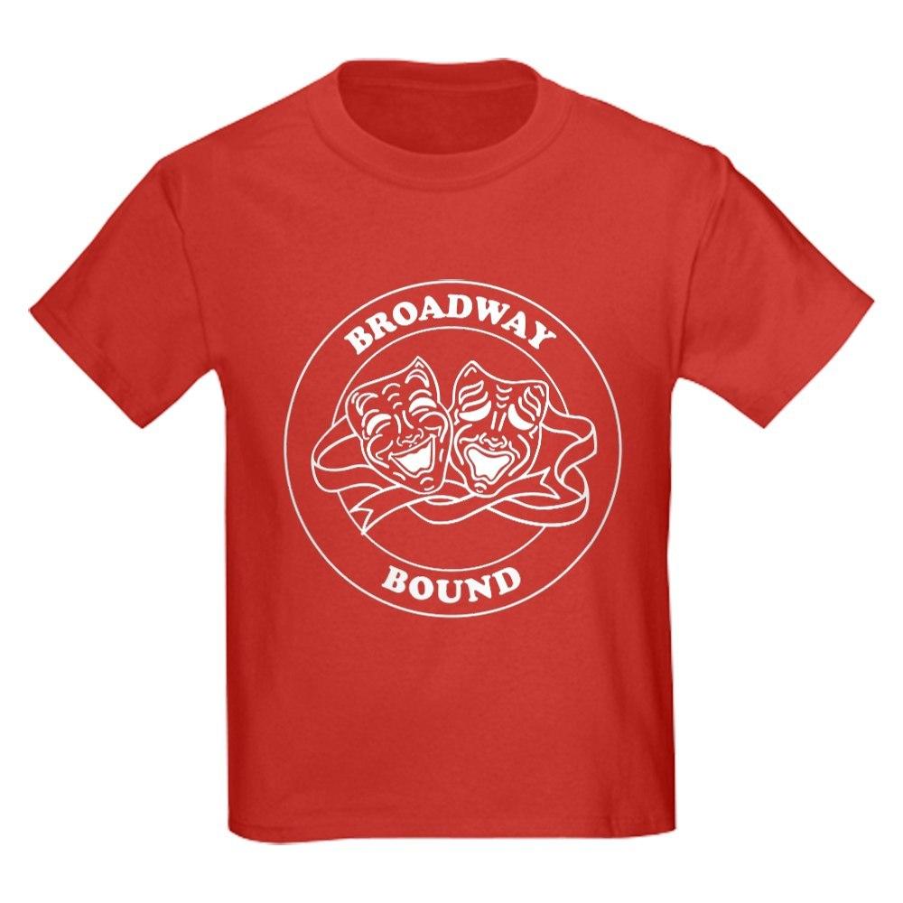 CafePress BROADWAY BOUND Round Badge Design T-Shirt