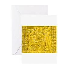 Cute Mayas Greeting Card