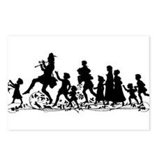 Cute Pipers piping Postcards (Package of 8)
