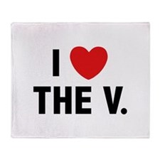 I Love The V. Stadium Blanket