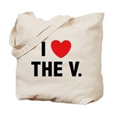 I Love The V. Tote Bag