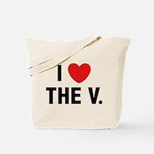 I Love The V. Tote Bag