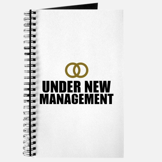 Under New Management Wedding Journal