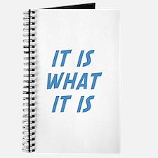 It Is What It Is Journal