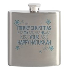 Merry Chirstmass Flask