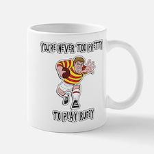 Funny Rugby Player Mug