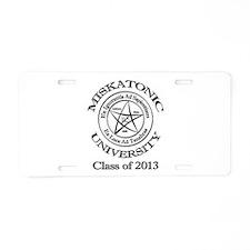 Class of 2013 Aluminum License Plate