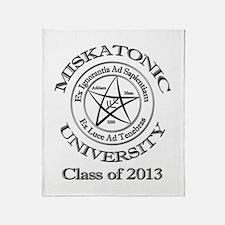 Class of 2013 Throw Blanket