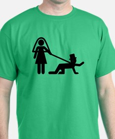 Bachelor party Wedding slave T-Shirt