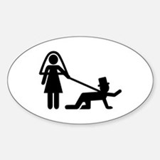 Bachelor party Wedding slave Decal