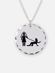 Bachelor party Wedding slave Necklace