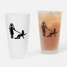 Bachelor party Wedding slave Drinking Glass