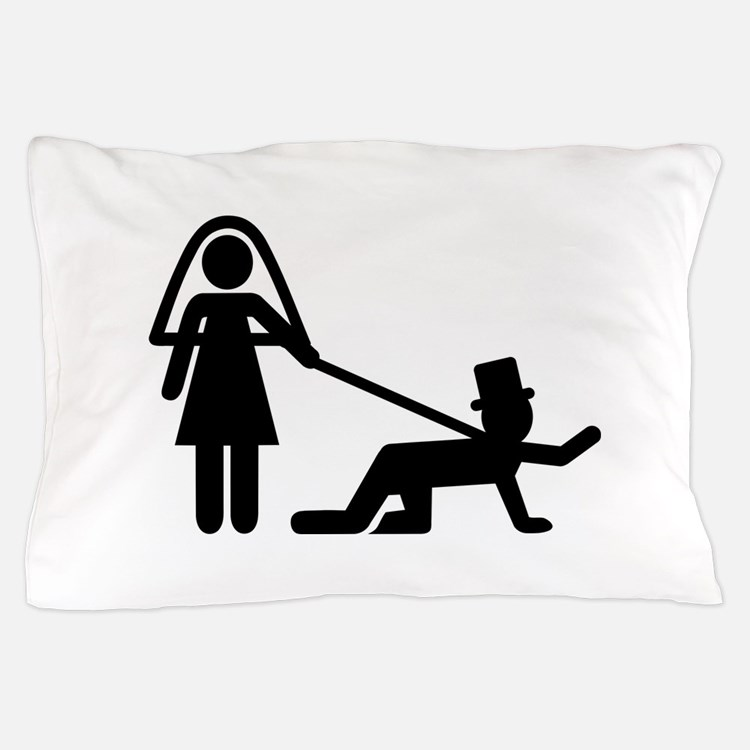 Bachelor party Wedding slave Pillow Case