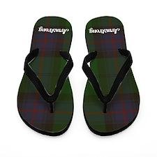Armstrong Tartan Flip Flops