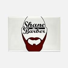 Funny Barbershop Rectangle Magnet