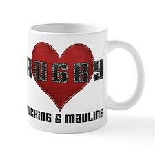 I Love Rugby Rucking & Mauling Mug