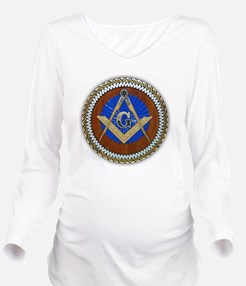 Freemasonry Long Sleeve Maternity T-Shirt