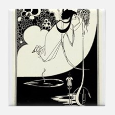 """The Climax' by Aubrey Beardsley Tile Coaster"