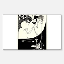 """The Climax' by Aubrey Beardsley Decal"