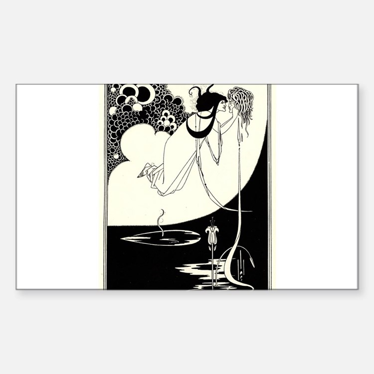 """""""The Climax' by Aubrey Beardsley Decal"""