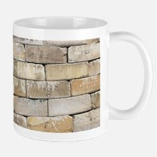 Built Like a Brick Wall Mugs