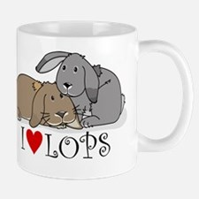 "I ""heart"" lops Mugs"