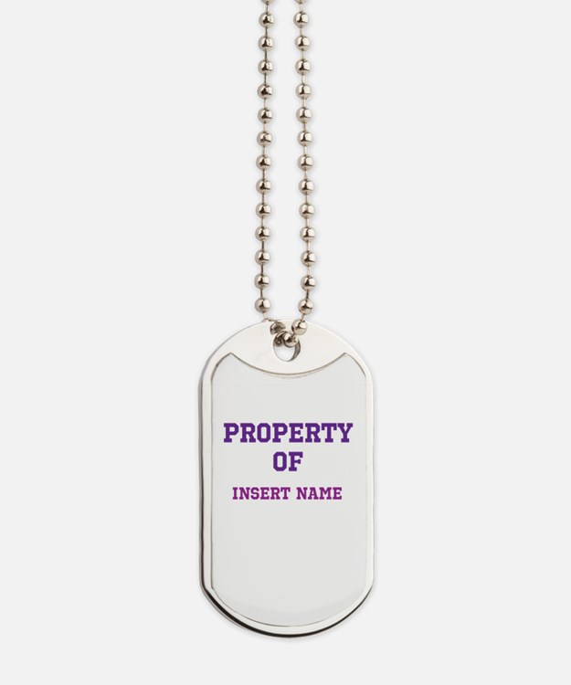 Customized Property Dog Tags