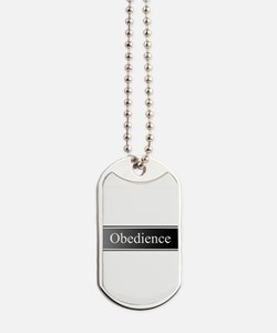 Obedience Dog Tags