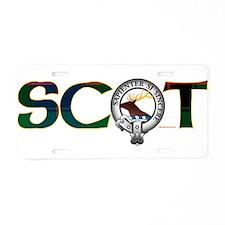 Davidson Clan Aluminum License Plate