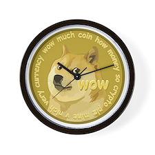 OFFICIAL DOGECOIN Wall Clock