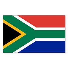 South Africa Flag Bumper Stickers